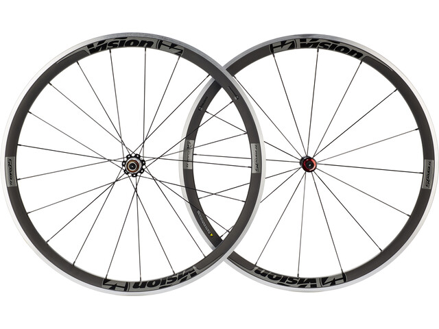 FSA Vision Trimax Carbon 35 Wheelset Clincher Shimano black/grey